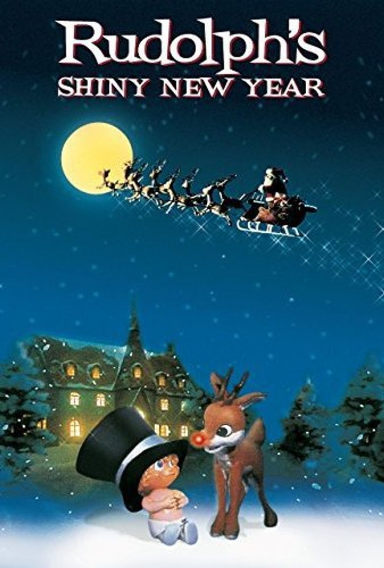 Rudolph's Shiny New Year Poster