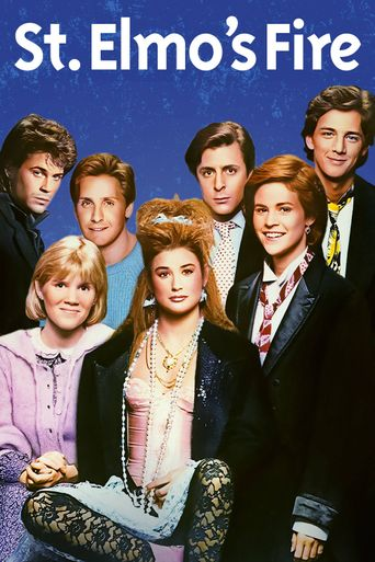 St. Elmo's Fire Poster