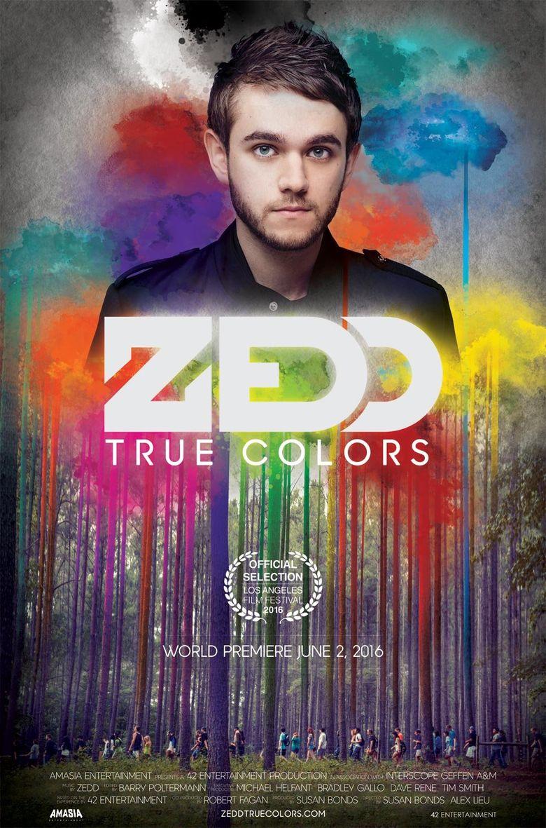 Zedd: True Colors Poster