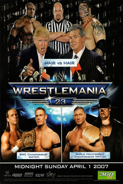 WWE WrestleMania 23 Poster