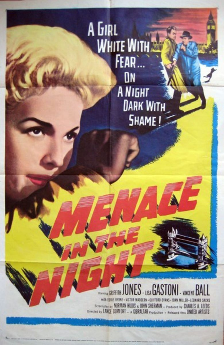 Menace In The Night Poster