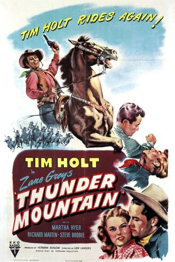 Thunder Mountain Poster