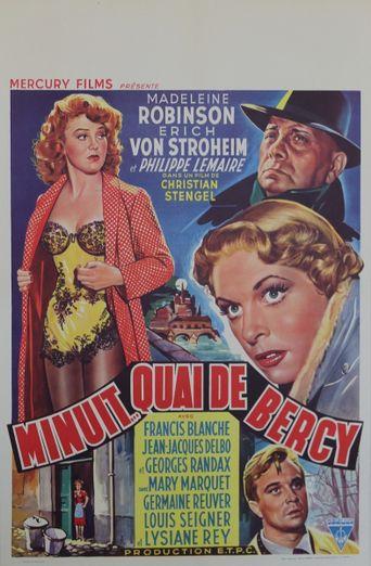 Minuit... Quai De Bercy Poster