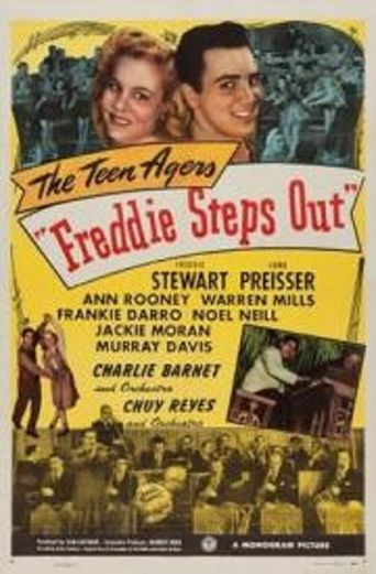 Freddie Steps Out Poster