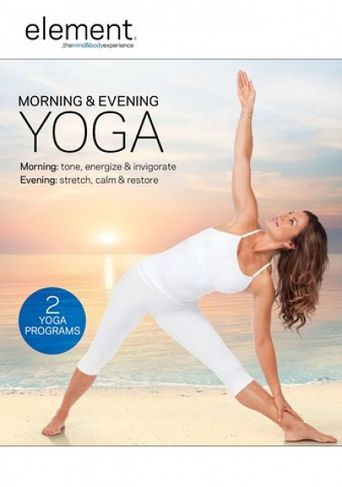 Element: Morning and Evening Yoga Poster