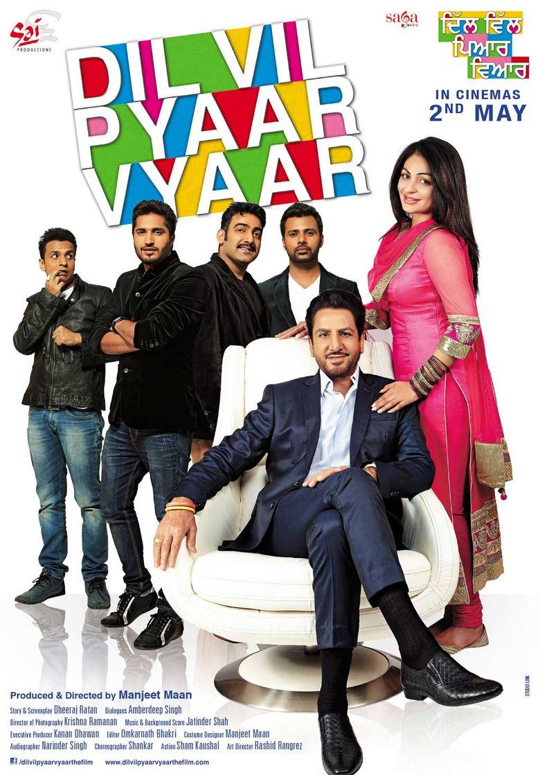 Dil Vil Pyaar Vyaar Poster