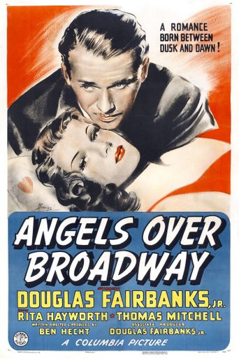 Angels Over Broadway Poster