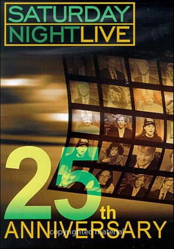Saturday Night Live 25th Anniversary Poster