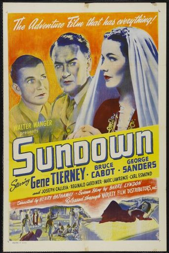 Sundown Poster