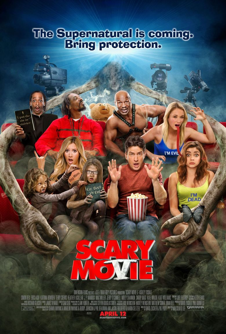 Watch Scary Movie 5