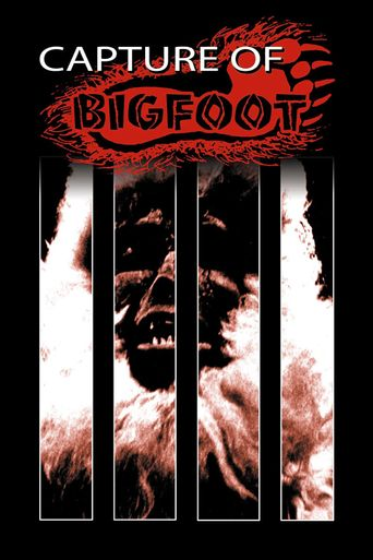 The Capture of Bigfoot Poster