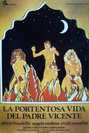 La portentosa vida del padre Vicente Poster