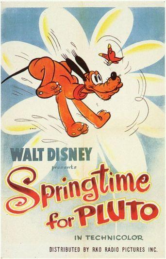 Springtime for Pluto Poster