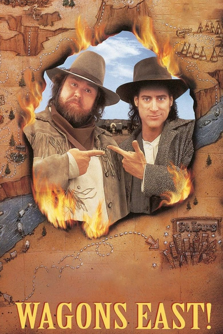 Wagons East! Poster