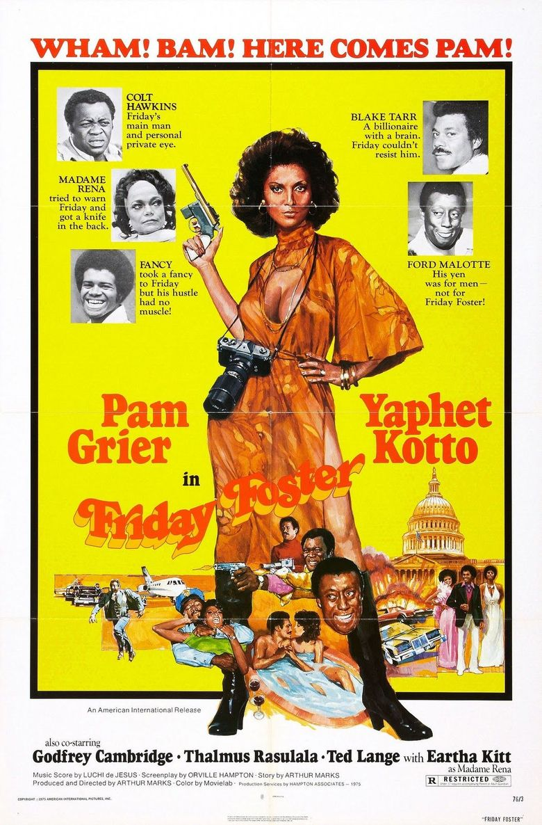 Friday Foster Poster