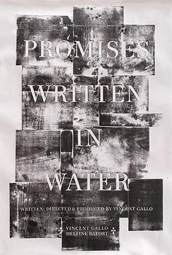 Promises Written in Water Poster