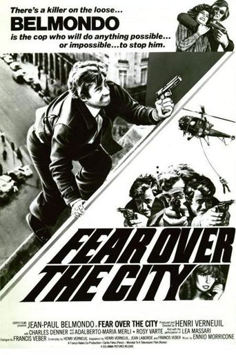 Fear Over the City Poster