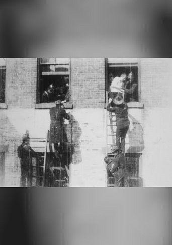 Firemen Rescuing Men and Women Poster