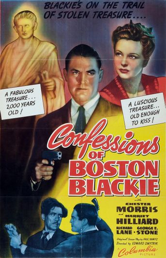 Confessions of Boston Blackie Poster