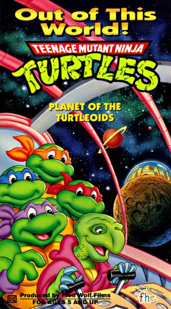 Teenage Mutant Ninja Turtles: Planet of the Turtleoids Poster