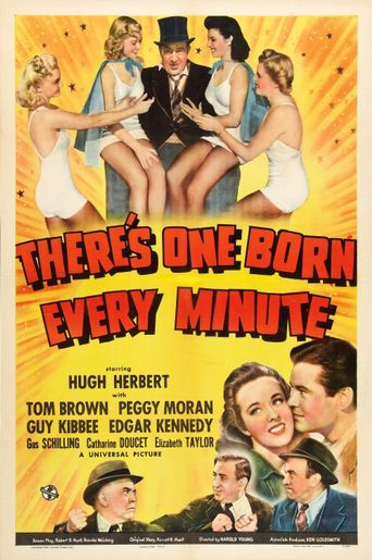 There's One Born Every Minute Poster