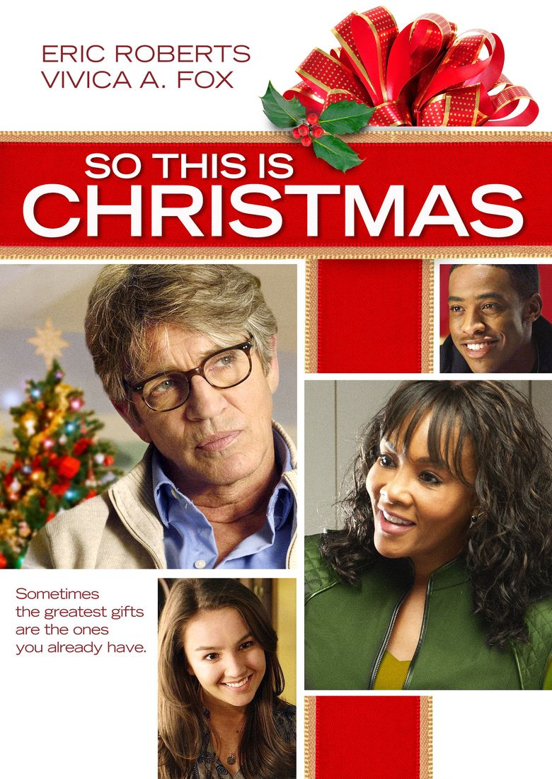 So This Is Christmas Poster