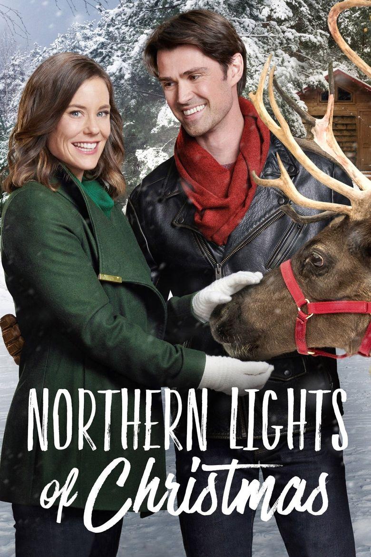 Northern Lights of Christmas Poster