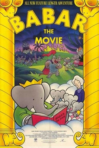 Babar The Movie Poster