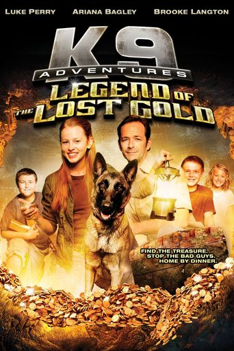 K-9 Adventures: Legend of the Lost Gold Poster