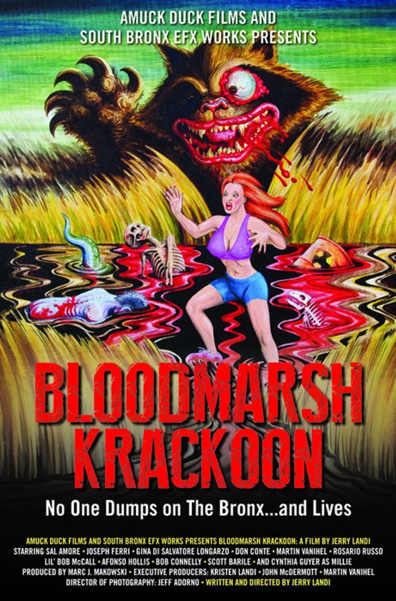 Bloodmarsh Krackoon Poster
