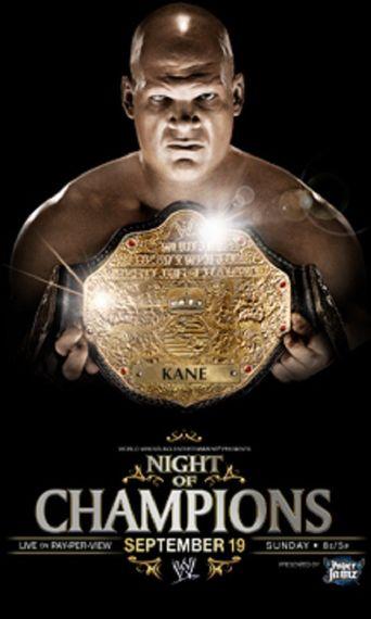 WWE Night of Champions 2010 Poster