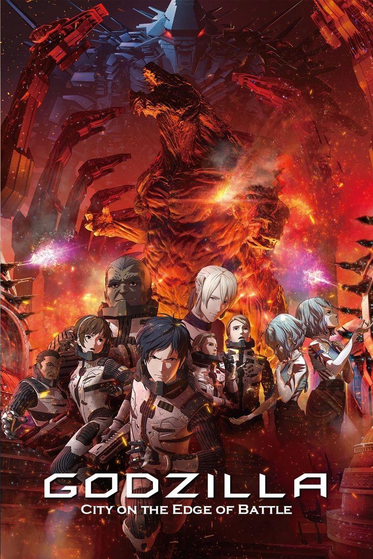Godzilla: City on the Edge of Battle Poster