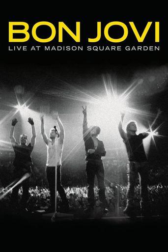 Bon Jovi: Live At Madison Square Garden Poster