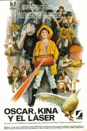 Óscar, Kina y el láser Poster