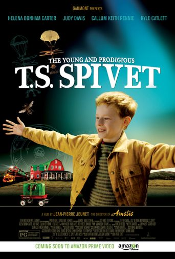Watch The Young and Prodigious T.S. Spivet