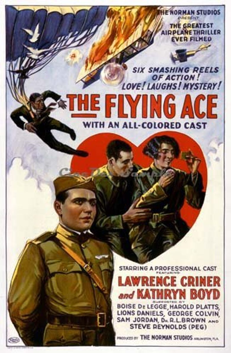 The Flying Ace Poster