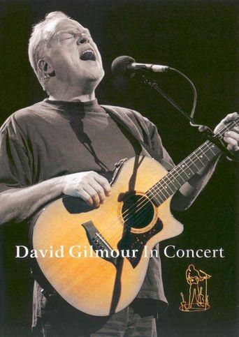 David Gilmour: Meltdown Concert Poster