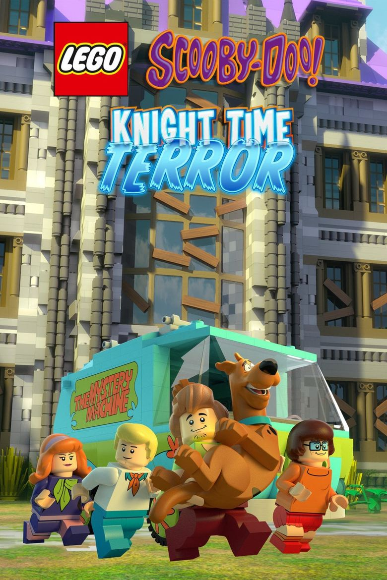 Lego Scooby-Doo! Knight Time Terror Poster