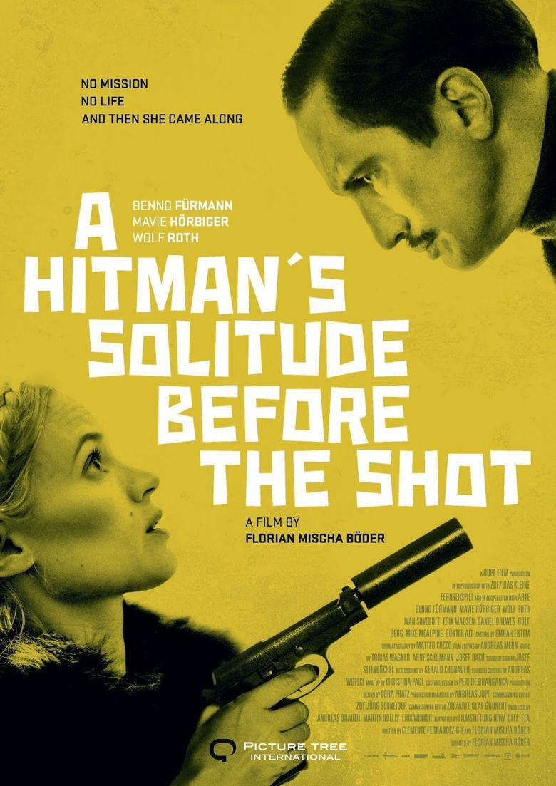 A Hitman's Solitude Before the Shot Poster