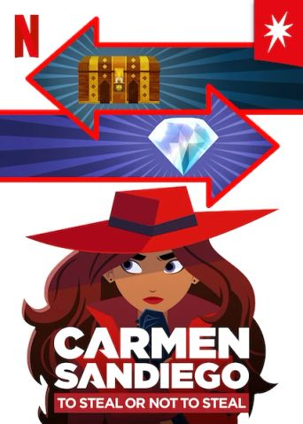 Carmen Sandiego: To Steal or Not to Steal Poster