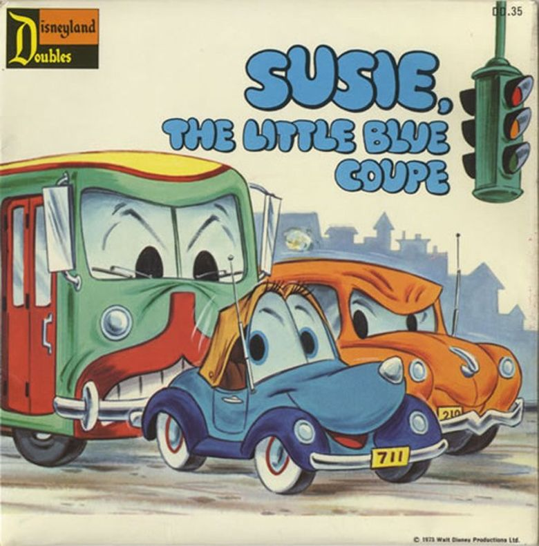 Susie the Little Blue Coupe Poster
