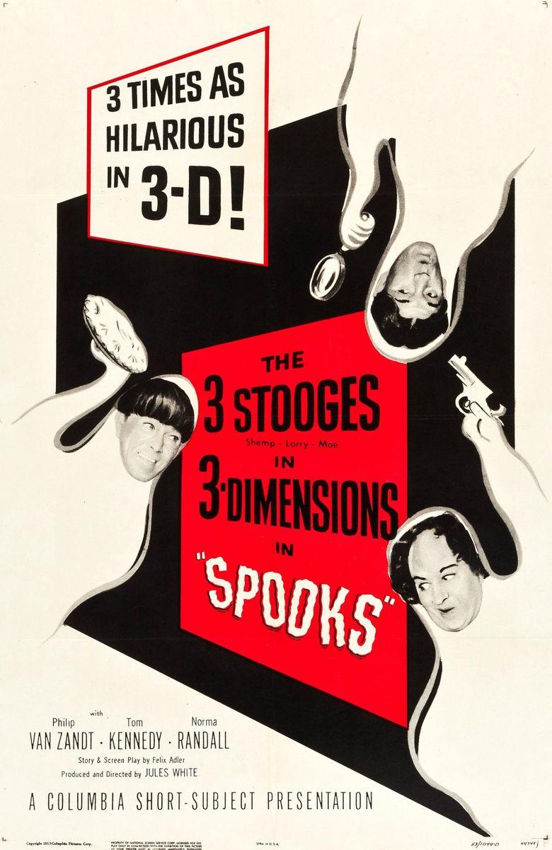 Spooks! Poster