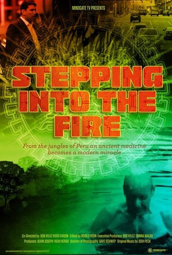 Stepping Into the Fire Poster