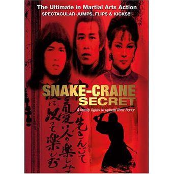 Snake-Crane Secret Poster