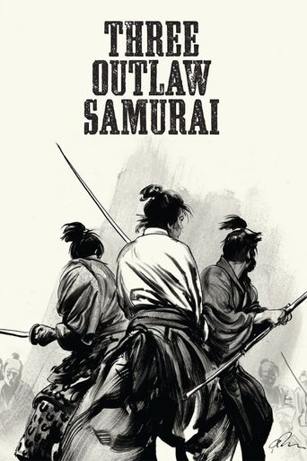 Three Outlaw Samurai Poster