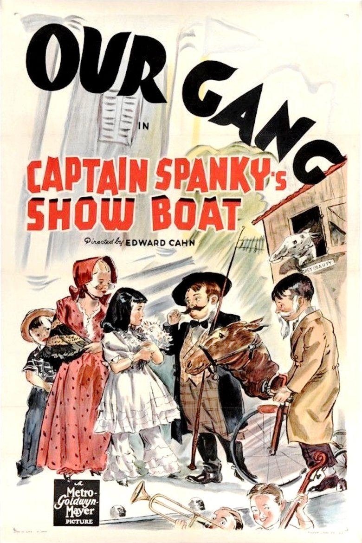 Captain Spanky's Show Boat Poster