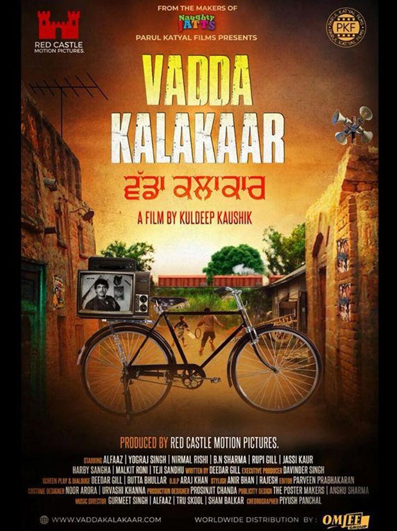 Vadda Kalakaar Poster