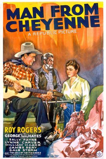Man from Cheyenne Poster