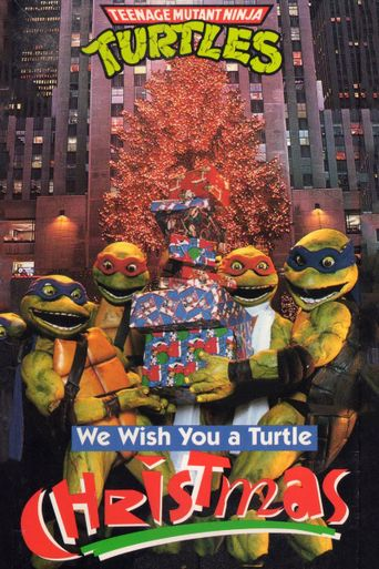 Teenage Mutant Ninja Turtles: We Wish You a Turtle Christmas Poster