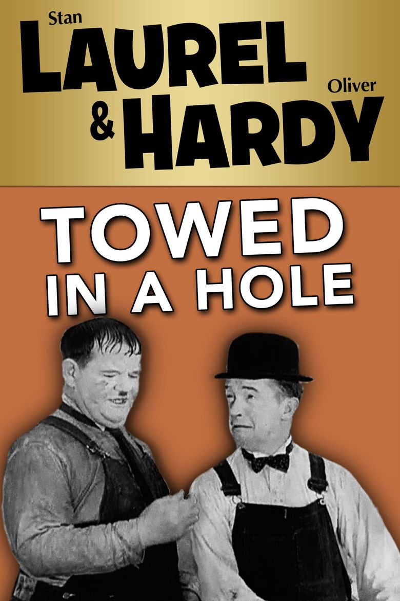 Towed in a Hole Poster